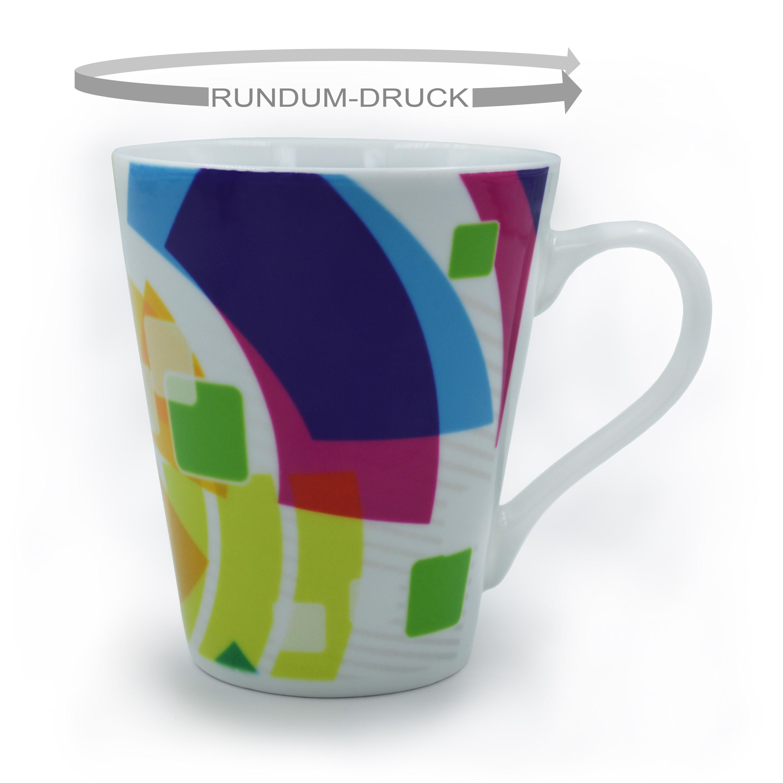 Style-Tasse mit Rrundumdruck