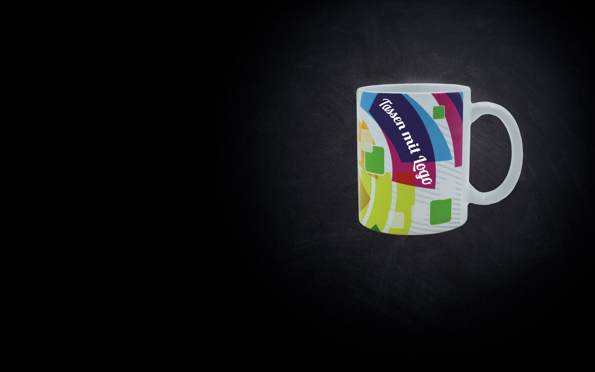 Tassen mit Logo